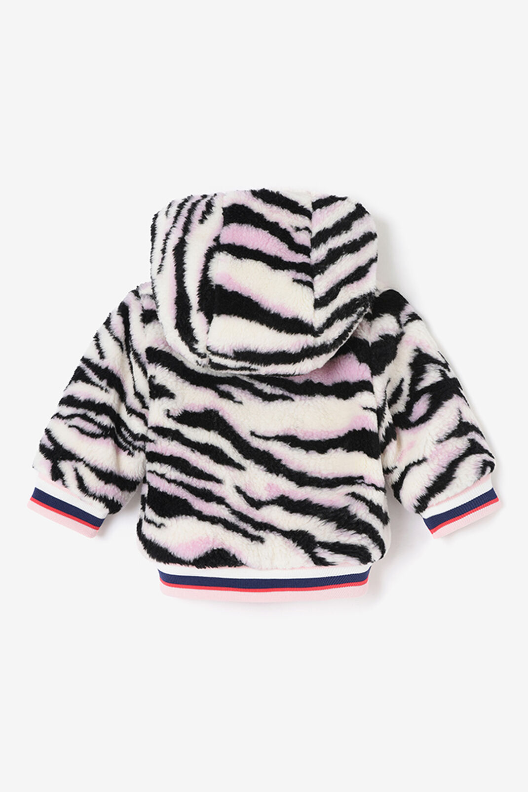 FADED PINK Reversible  Fur Lined Tiger Jacket for women KENZO