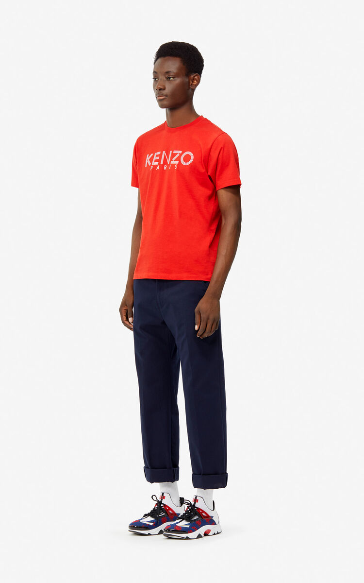 MIDNIGHT BLUE Lightweight trousers for men KENZO