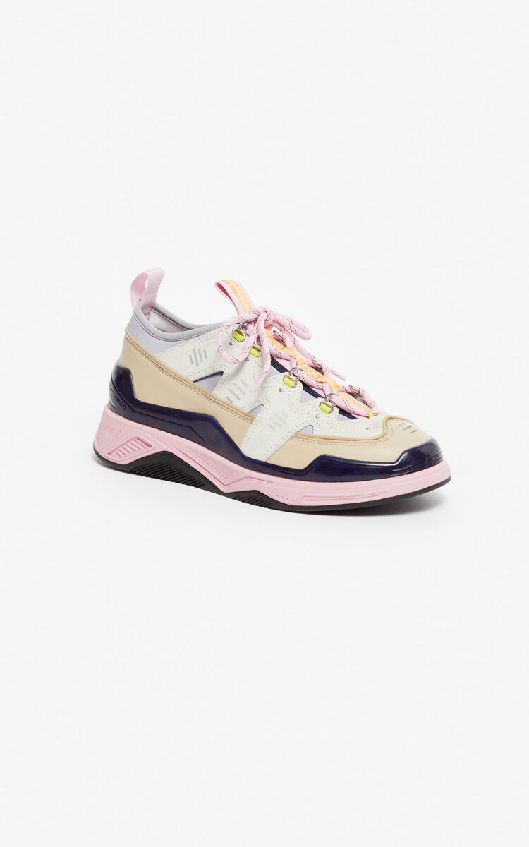 WHITE Klimb sneakers for women KENZO