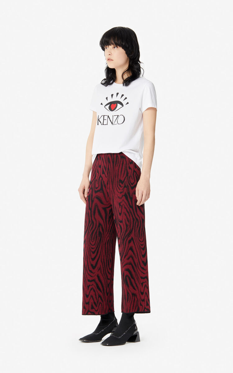 WHITE 'I ❤ KENZO' T-shirt for women