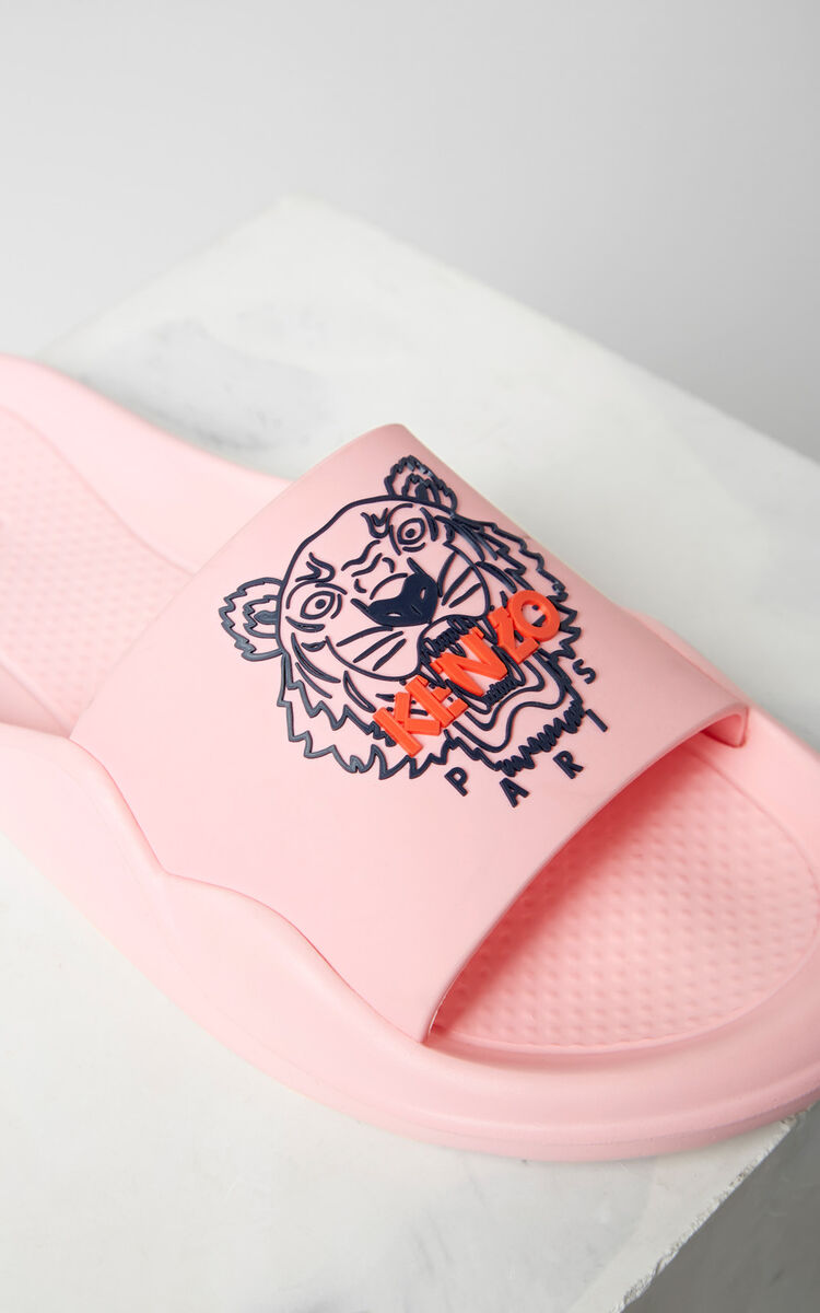 FLAMINGO PINK Tiger sandals for women KENZO