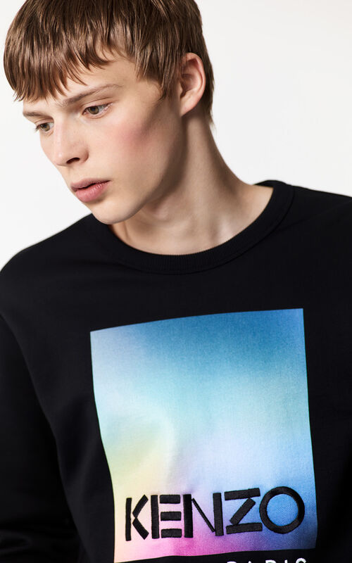 BLACK 'KENZO Northern Lights' Sweatshirt for men