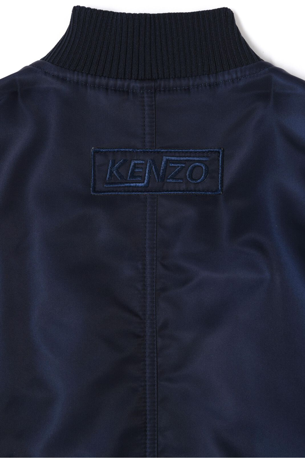 NAVY BLUE Long bomber for women KENZO