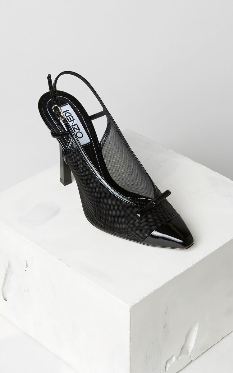 BLACK Torna heeled shoes for women KENZO