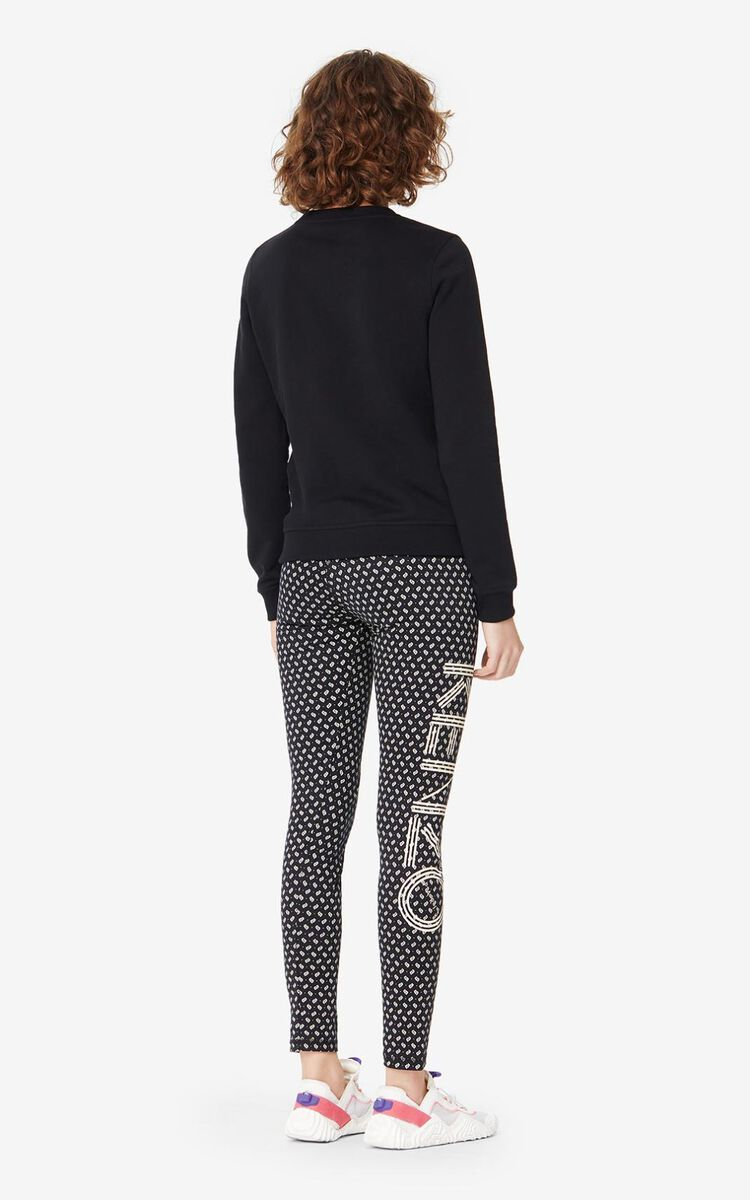 BLACK KENZO Paris 'Ikat' sweatshirt for women