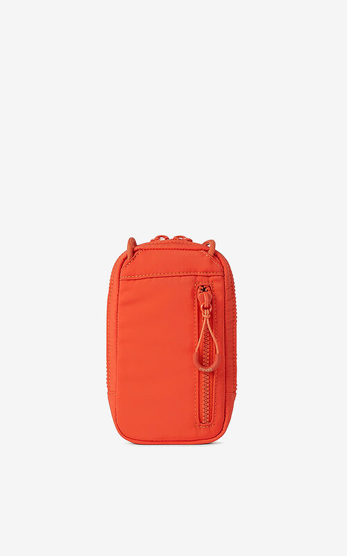 DEEP ORANGE KENZO Sport crossbody phone holder for women