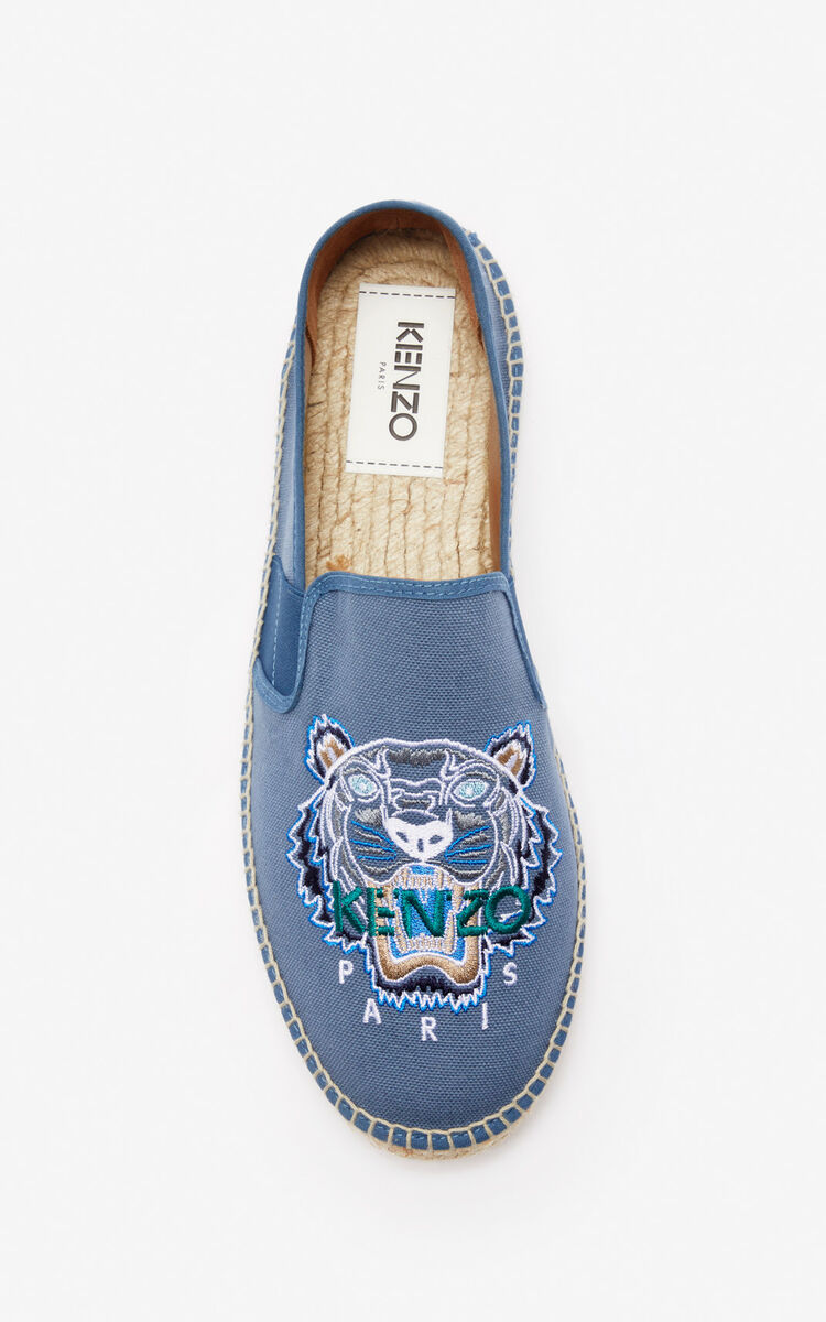 DOVE GREY Tiger espadrilles for unisex KENZO