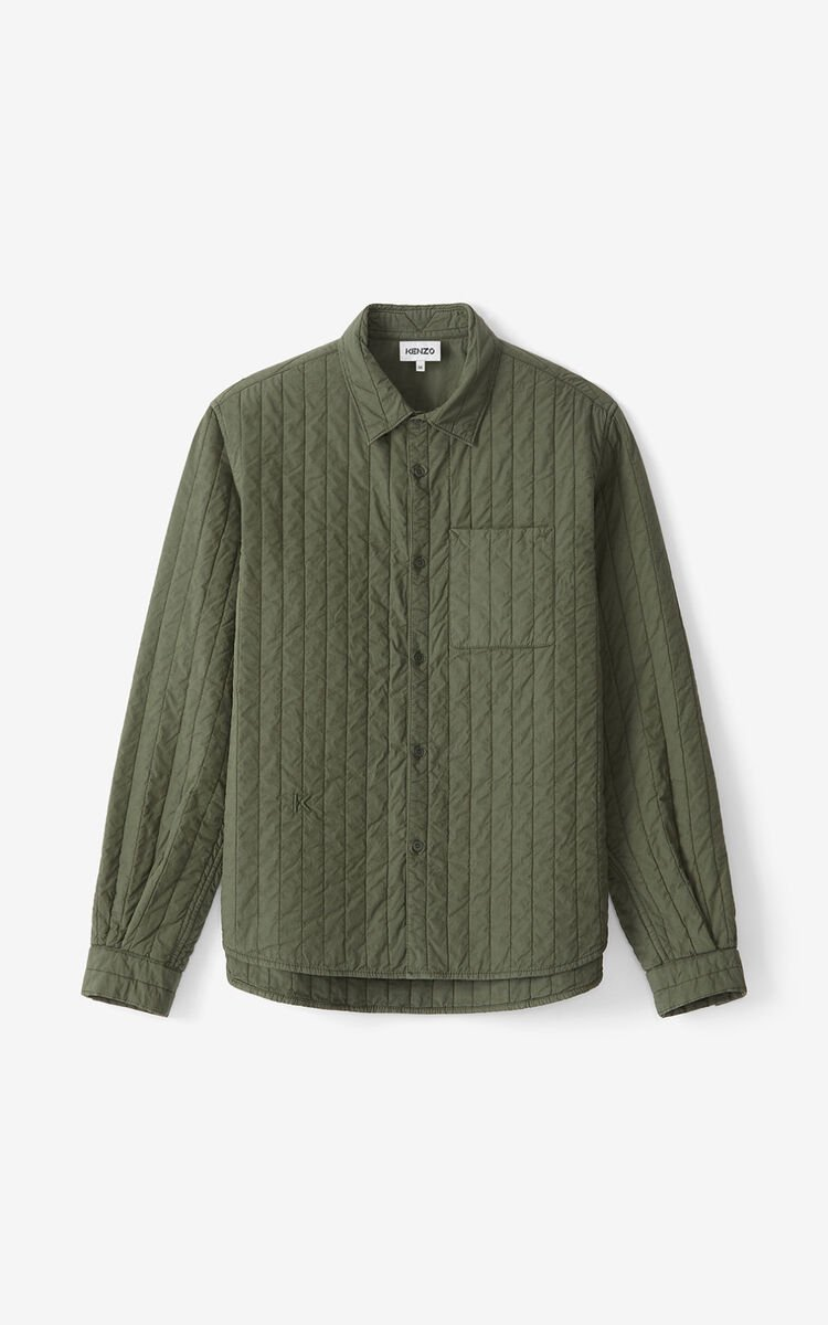 FERN Quilted casual shirt  for men KENZO