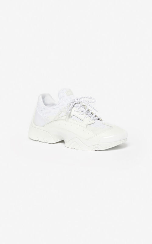 WHITE KENZO Sonic sneakers for unisex