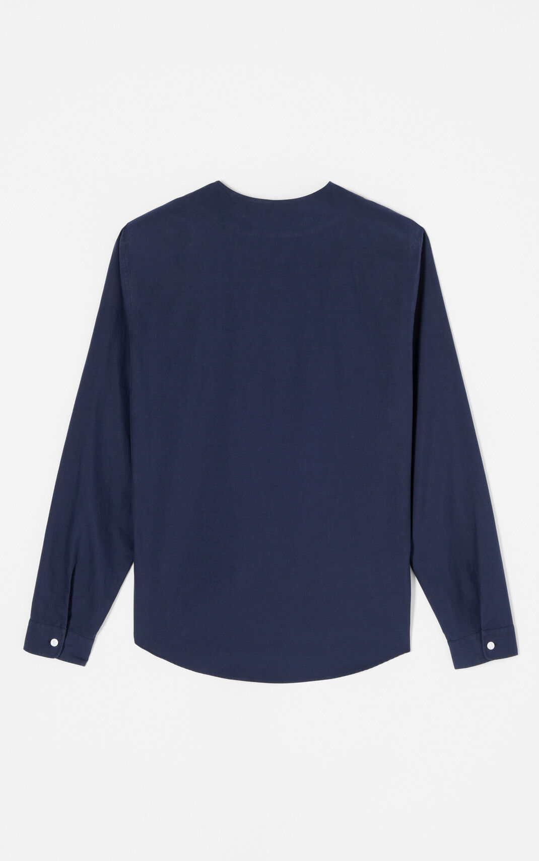 NAVY BLUE Baseball-style shirt for men KENZO