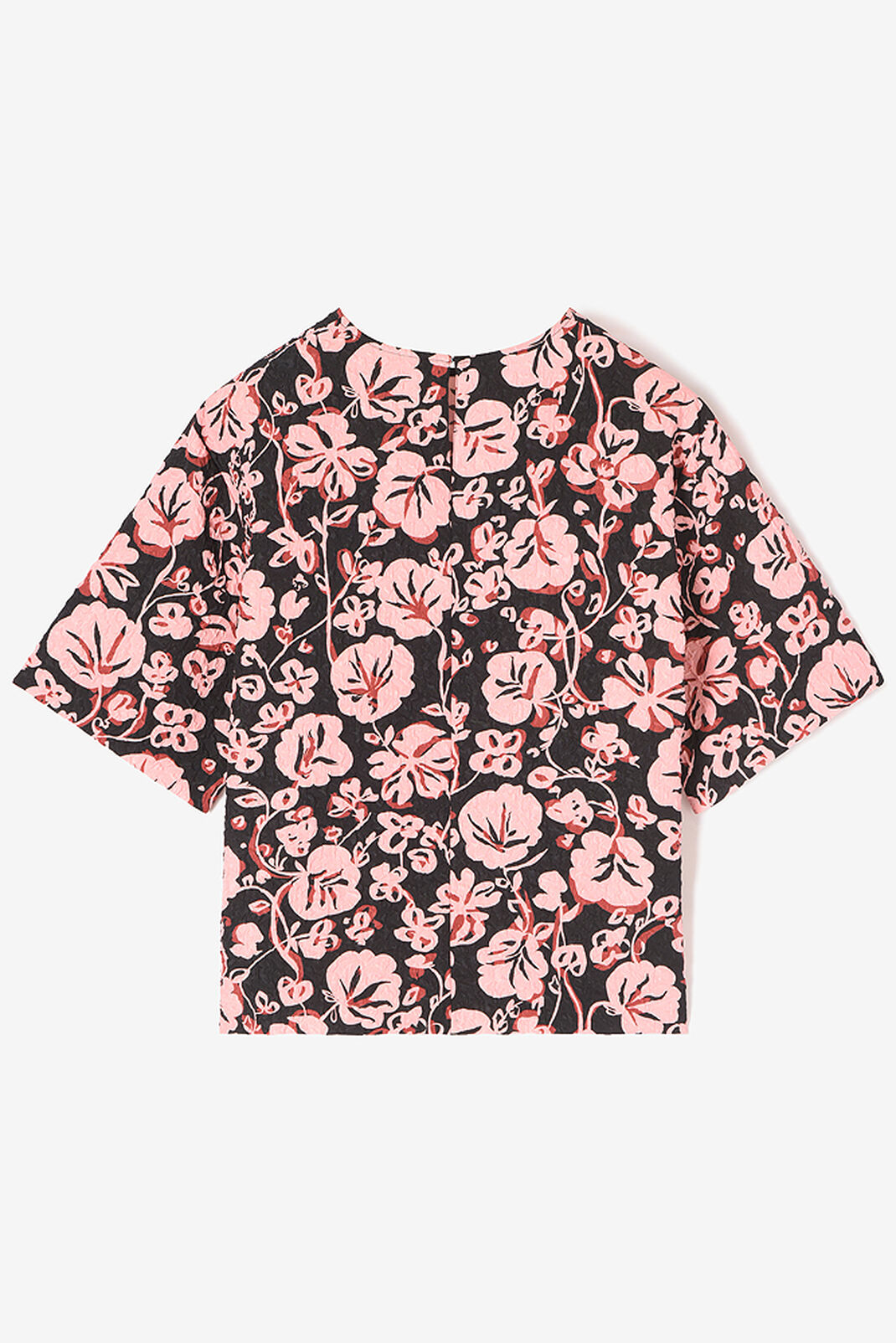 'Floral Leaf' Top, FADED PINK, KENZO