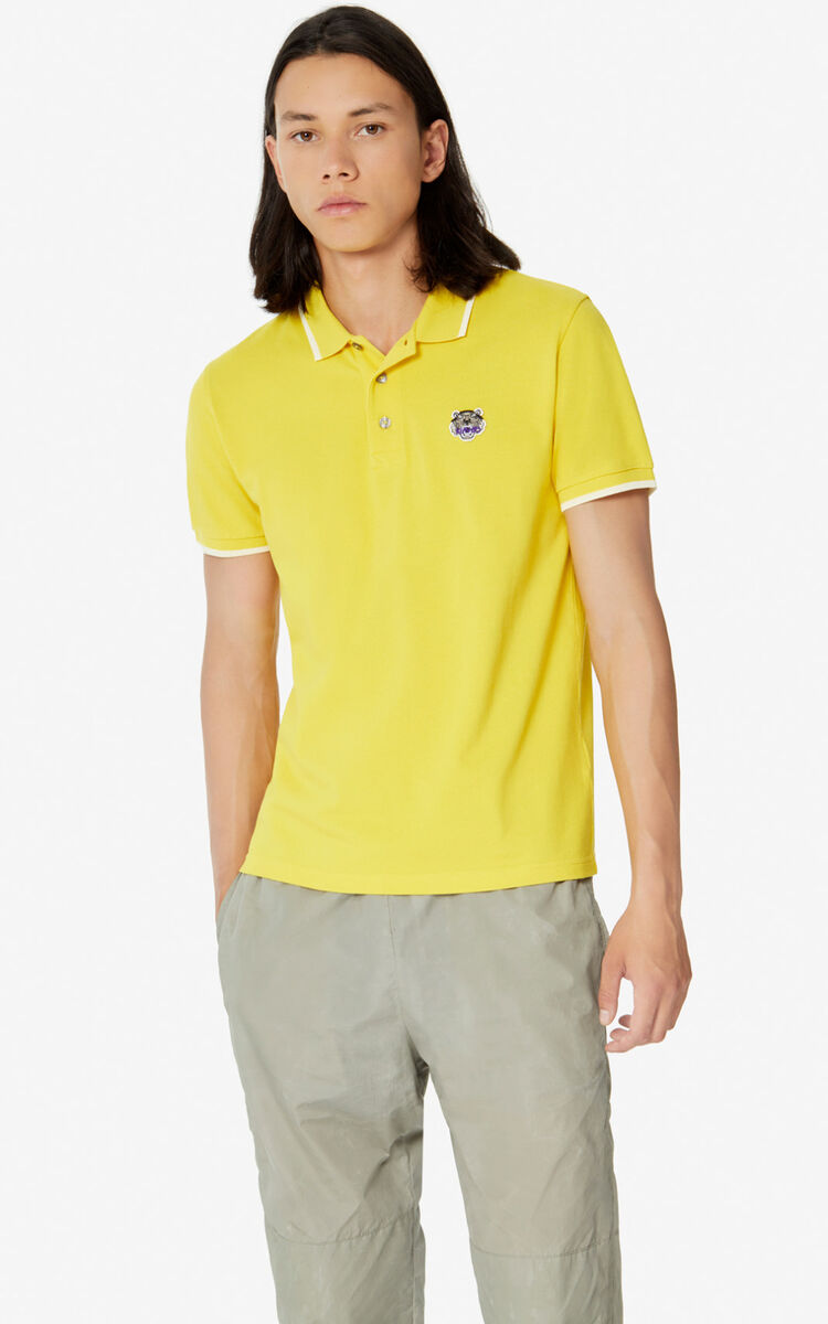 LEMON Fitted Tiger polo shirt  for women KENZO