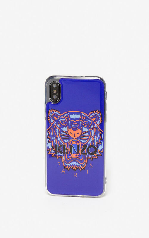 DEEP SEA BLUE iPhone X/XS Case for unisex KENZO