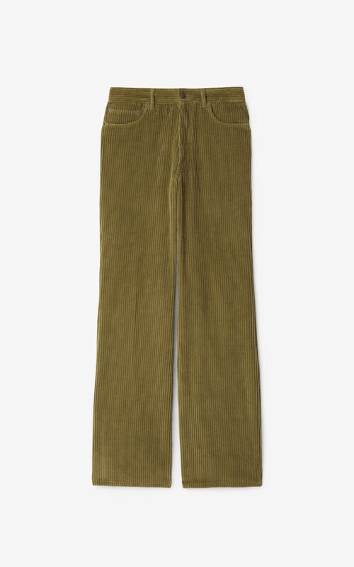 OLIVE Flared corduroy trousers for unisex KENZO