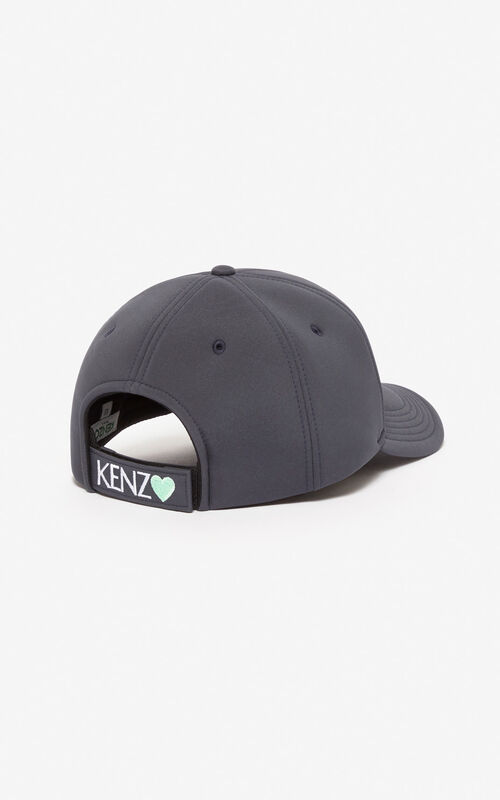 ANTHRACITE Tiger cap for unisex KENZO