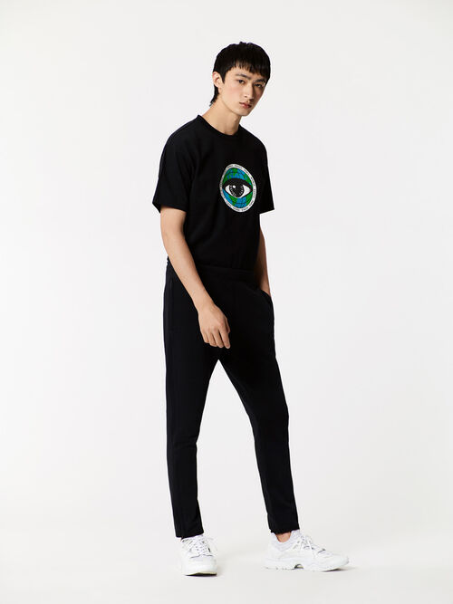 BLACK Earth' T-shirt for men KENZO
