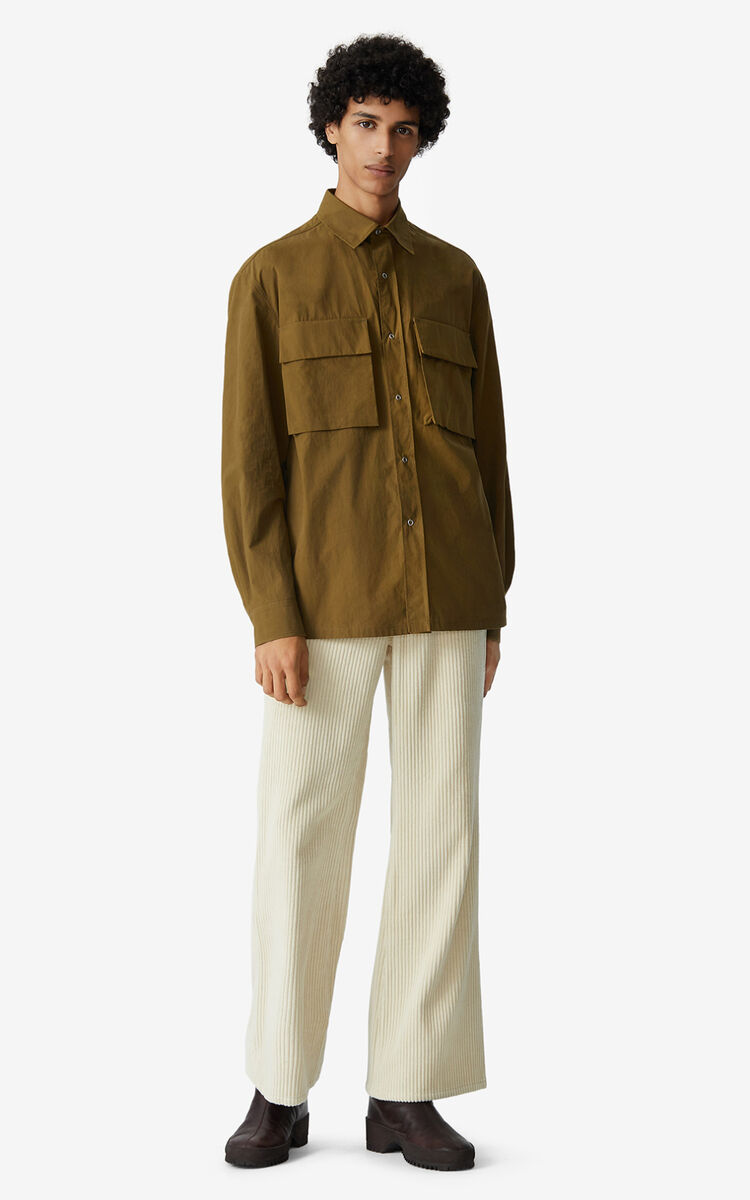 KHAKI Casual shirt for men KENZO