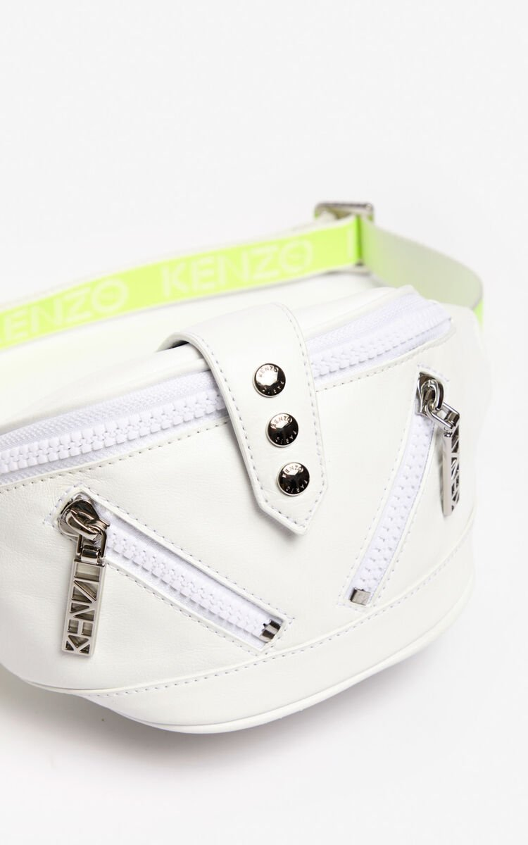 WHITE Kalifornia sports belt-bag for women KENZO