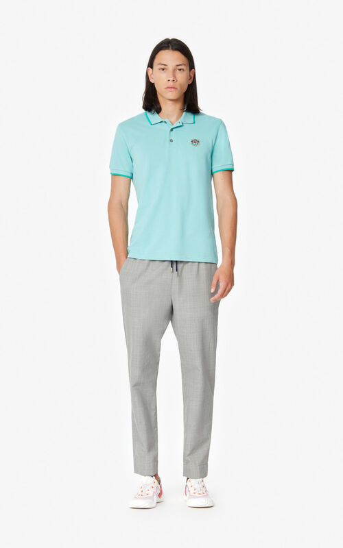 AQUA Fitted Tiger polo shirt  for women KENZO