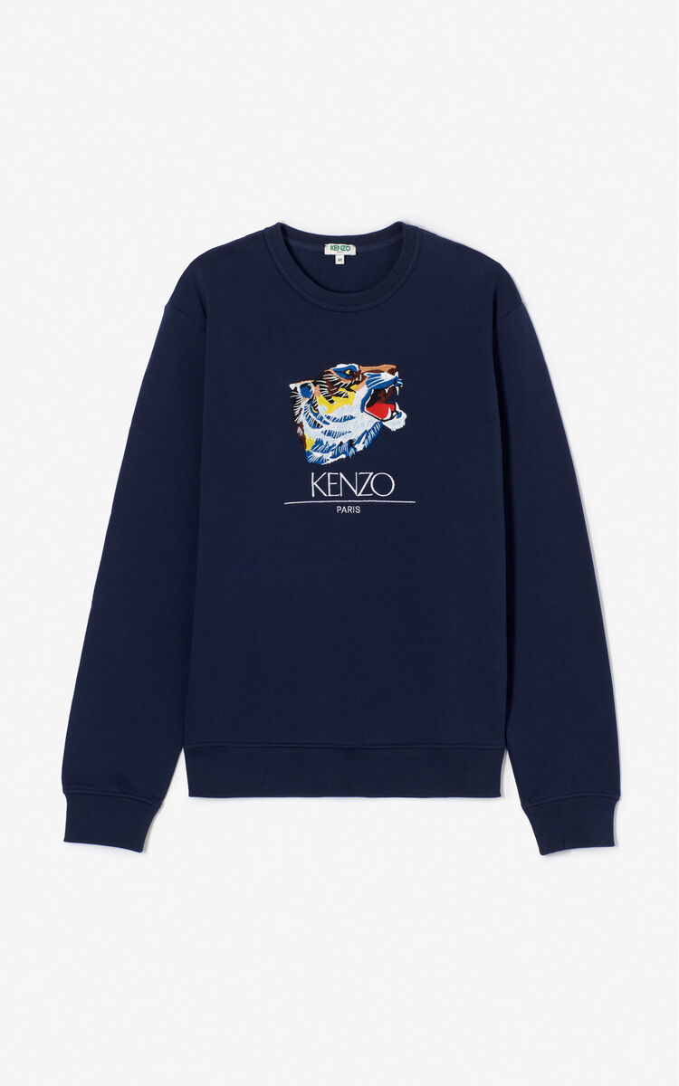 INK 'Tiger Head' Sweatshirt 'Go Tigers Capsule' for men KENZO