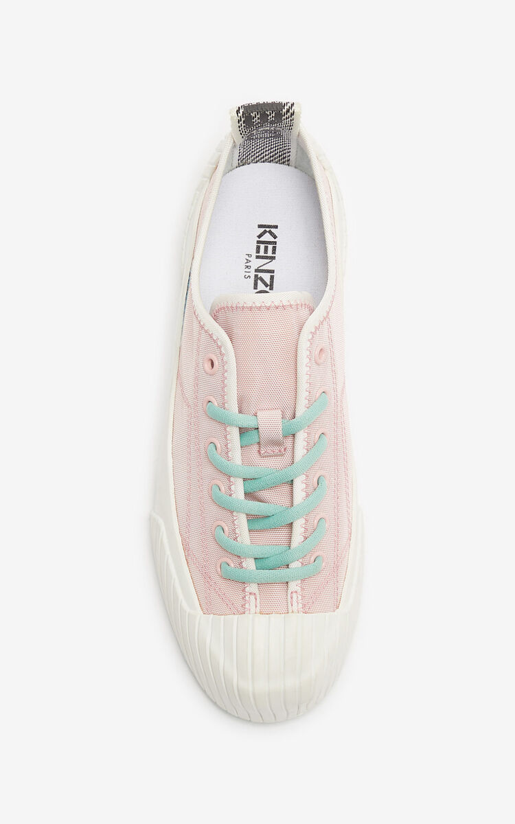 FADED PINK Volkano sneakers for unisex KENZO