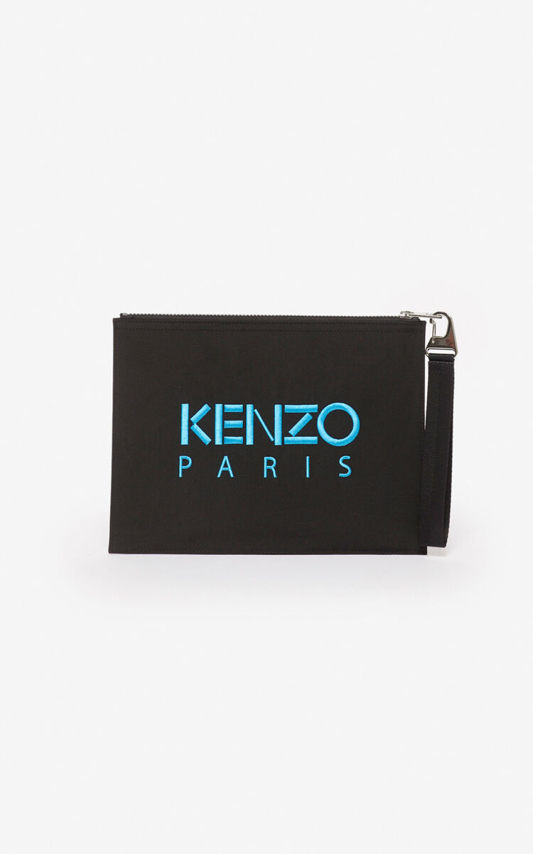BLACK Tiger A4 clutch for men KENZO