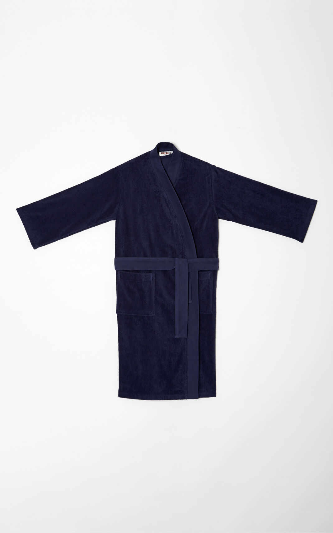 NAVY BLUE Tiger Dressing Gown for women KENZO