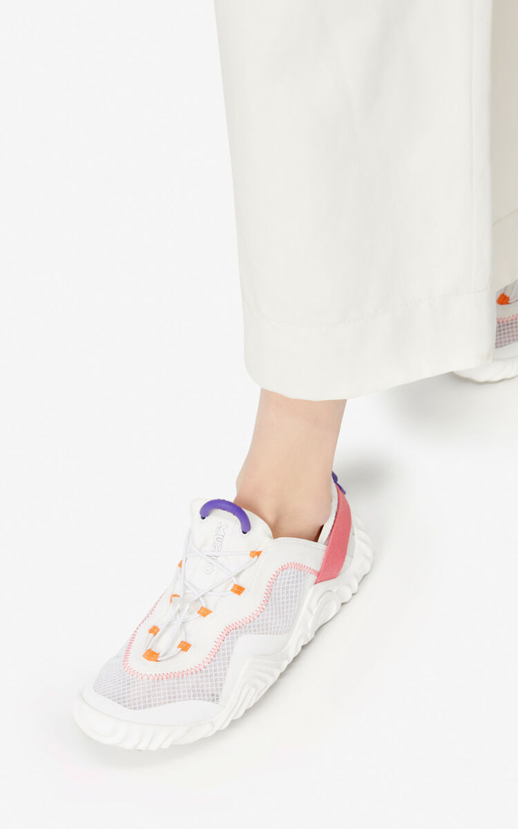 WHITE Wave sneakers  for women KENZO