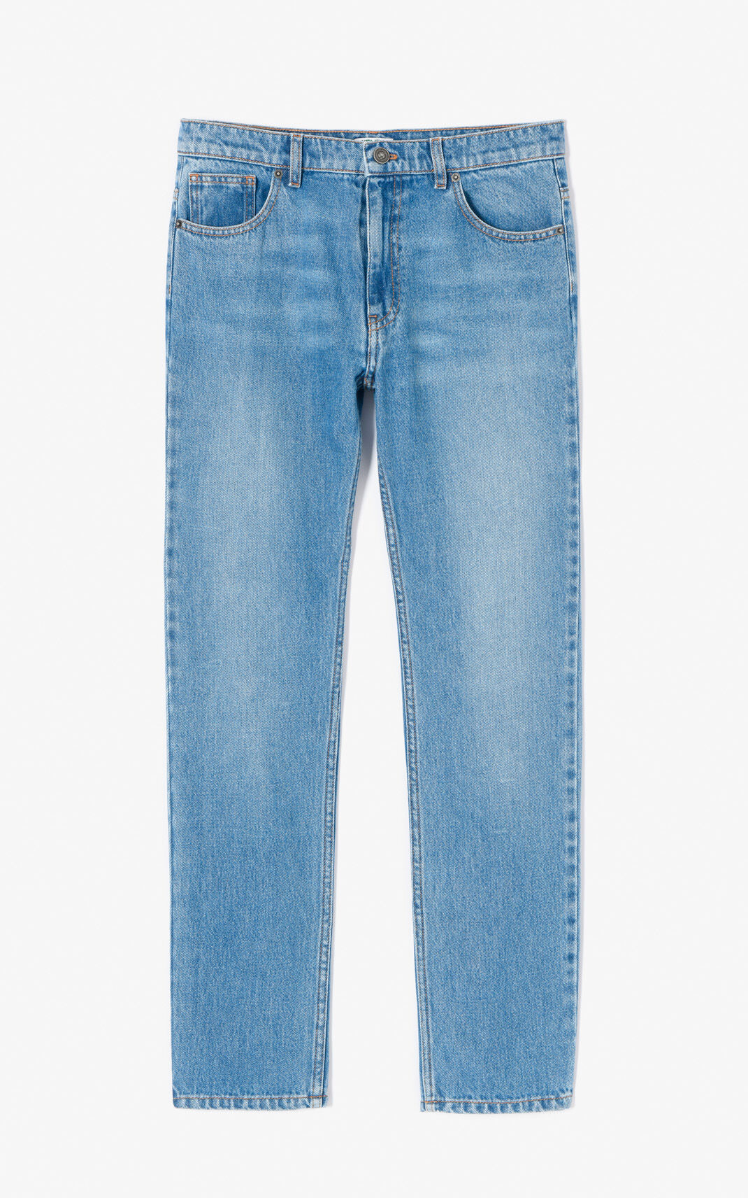 SKY BLUE Slim boyfriend Jean for women KENZO
