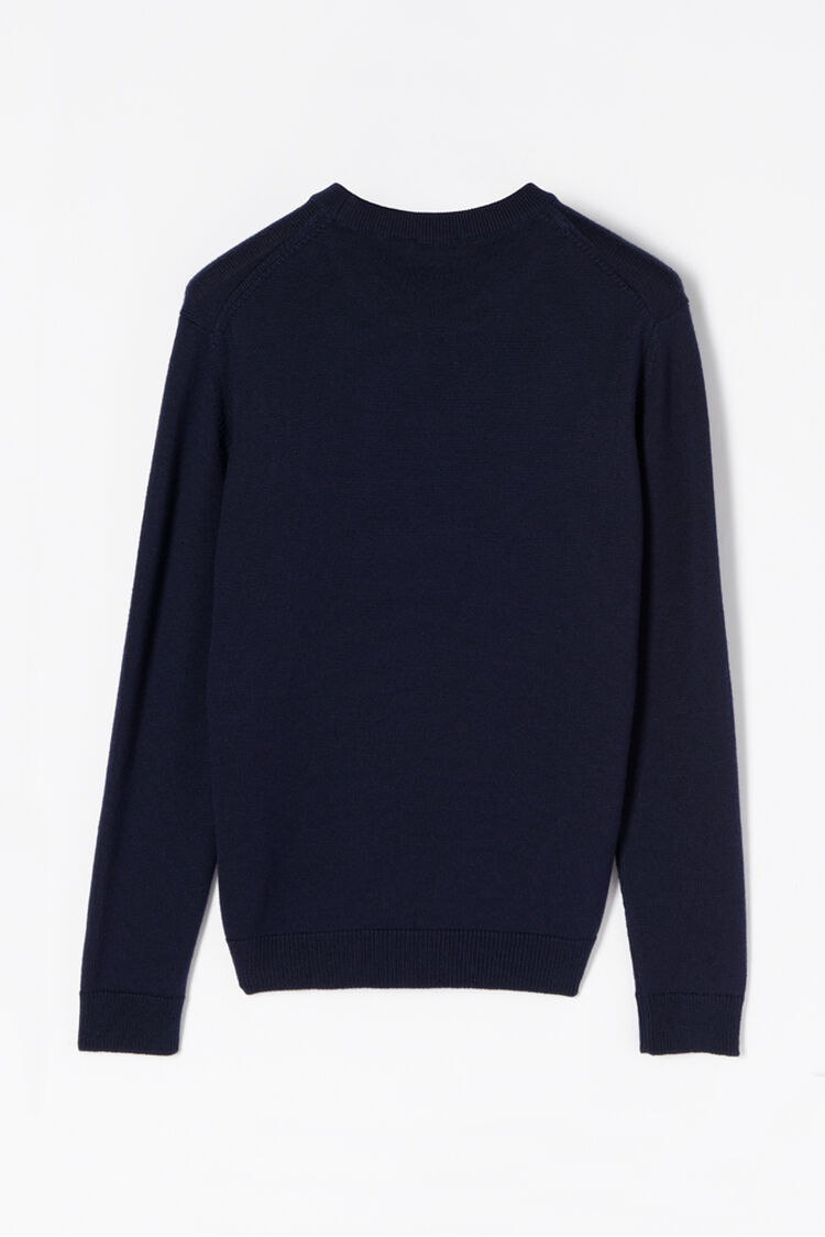 NAVY BLUE Knitted KENZO Sweater for women