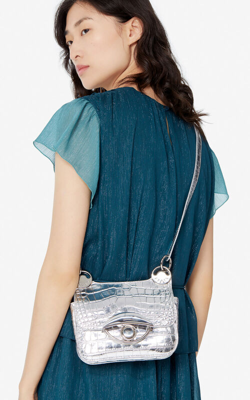 SILVER Mini TALI crossbody bag for women KENZO