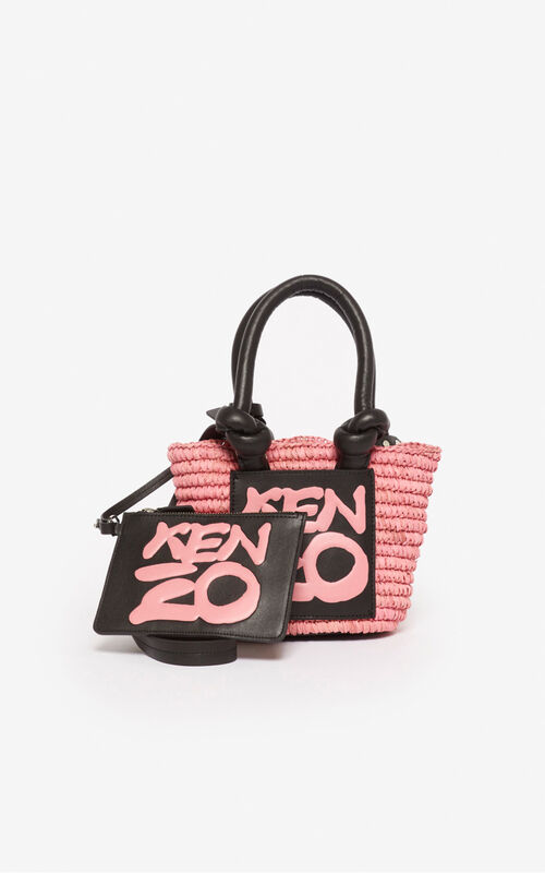 FADED PINK Kopakabana small basket for women KENZO