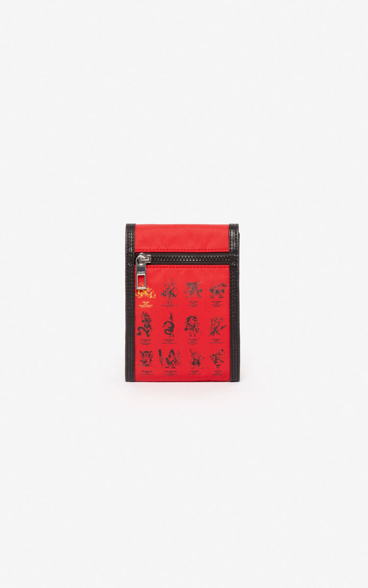MEDIUM RED 'Chinese New Year Capsule' 'Kung Fu Rat' phone case for unisex KENZO