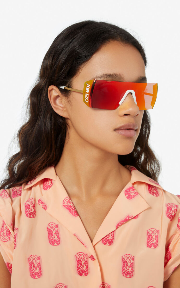GOLDEN YELLOW Sunglasses for unisex KENZO