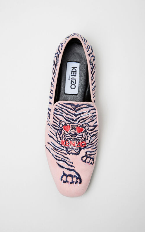 FLAMINGO PINK 'Valentine's Day Capsule' Loafers for women KENZO