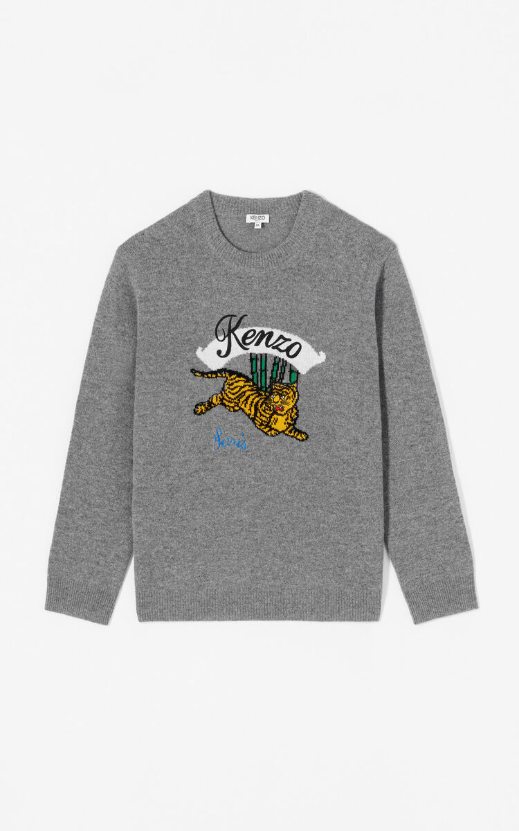 5c071ff71278 Jumping Tiger' jumper for OUTLET Kenzo | Kenzo.com