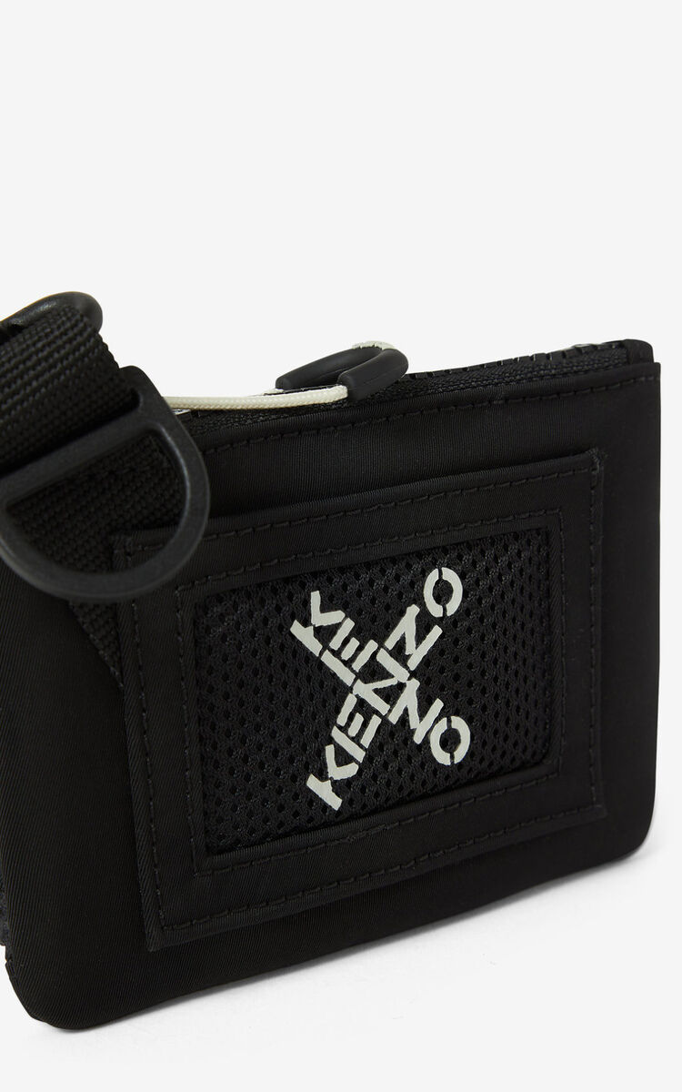 BLACK KENZO Sport small bag for men