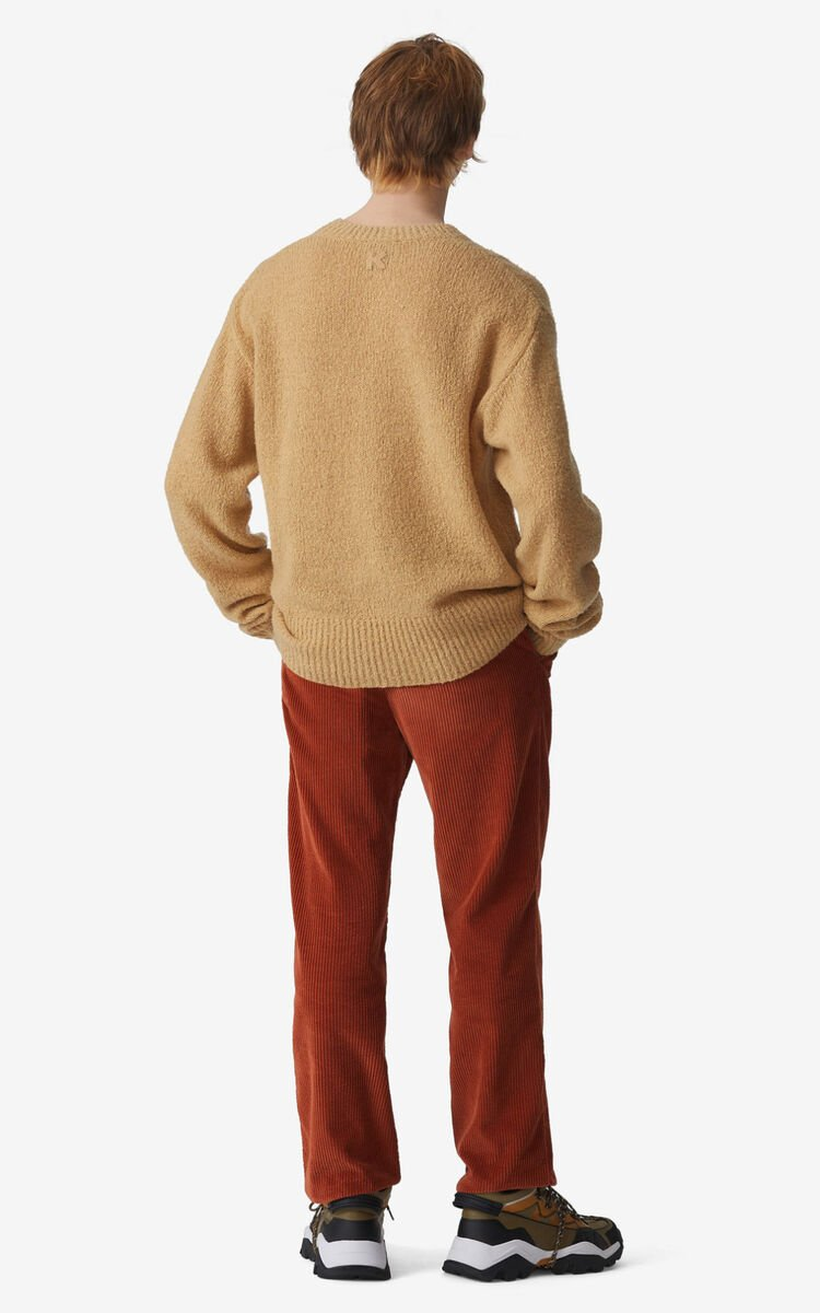 BEIGE Recycled cashmere K jumper for men KENZO