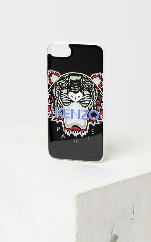 BLACK Tiger iPhone 8 case for unisex KENZO