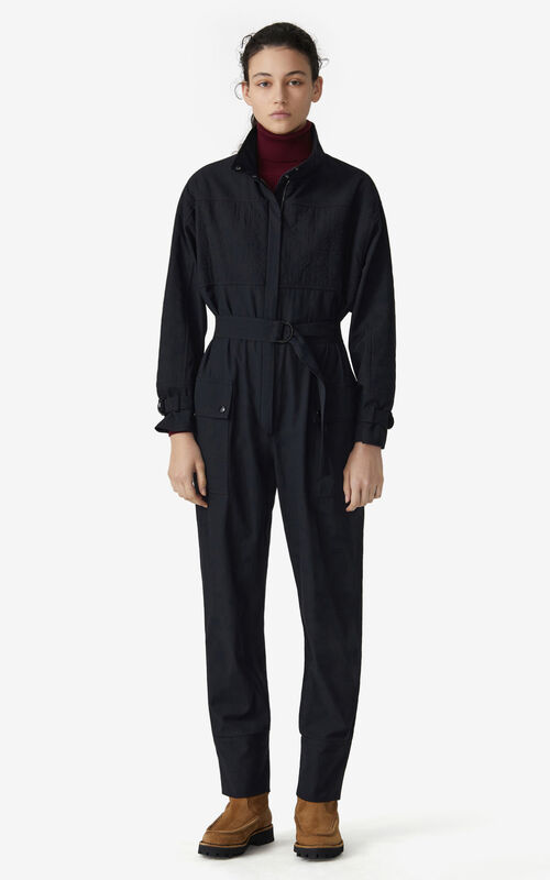 BLACK Coveralls for women KENZO