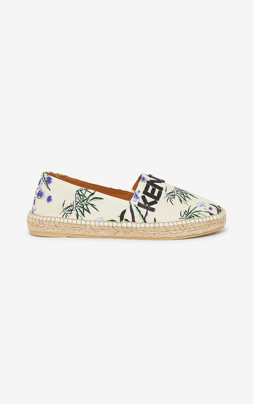 ECRU 'Sea Lily' espadrilles for women KENZO