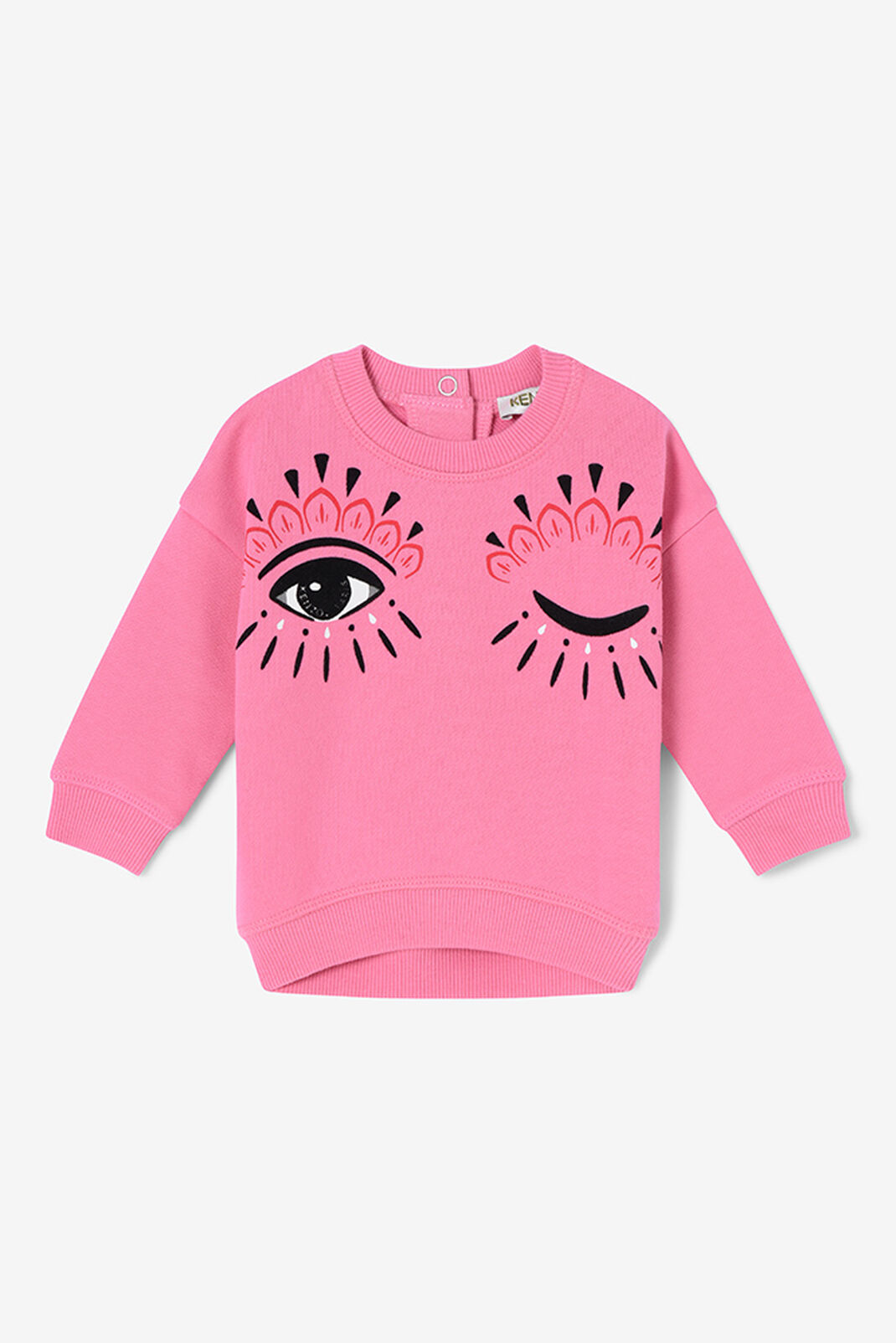 ROSE Winking Eyes Sweatshirt for women KENZO
