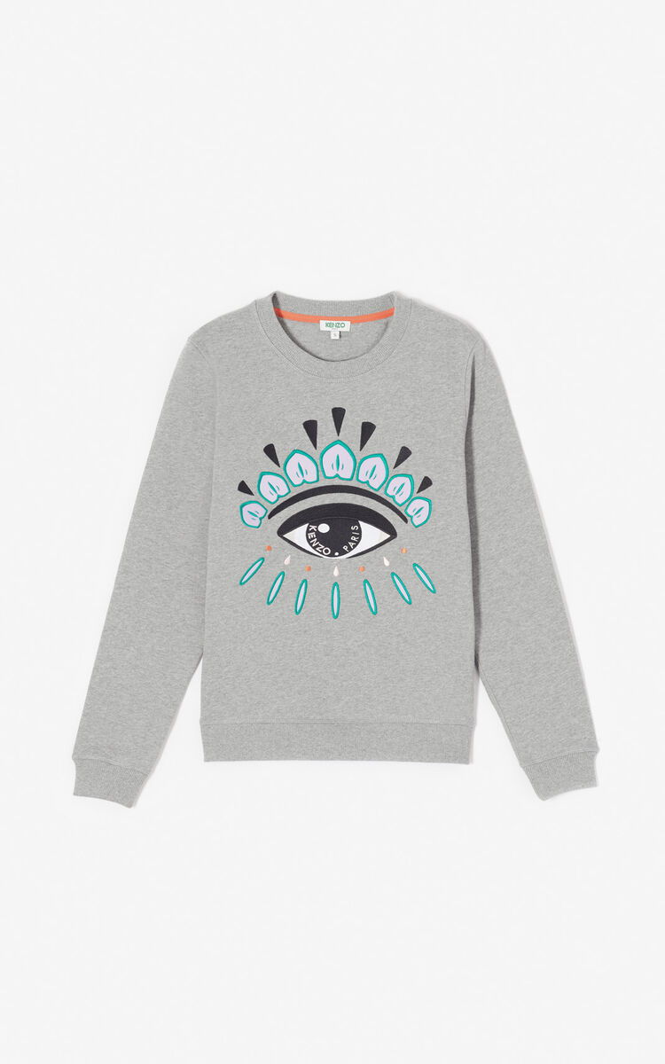 10951bb662d26 Embroidered Eye sweatshirt for LAST CHANCE Kenzo | Kenzo.com