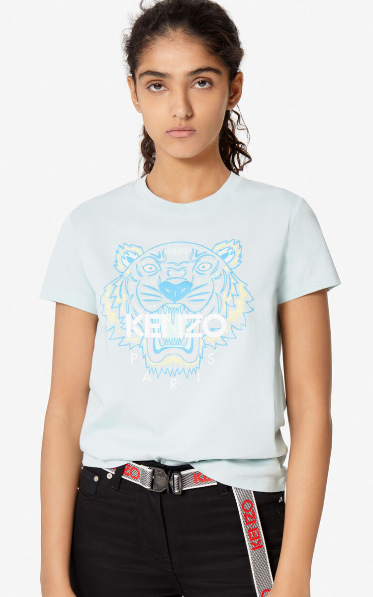 LIME TEA Tiger T-shirt for women KENZO