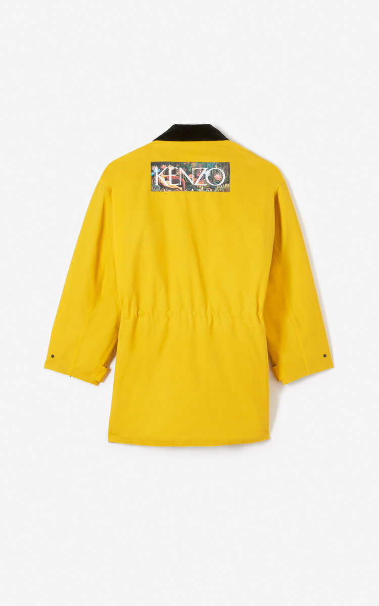 LEMON KENZO utility parka for men