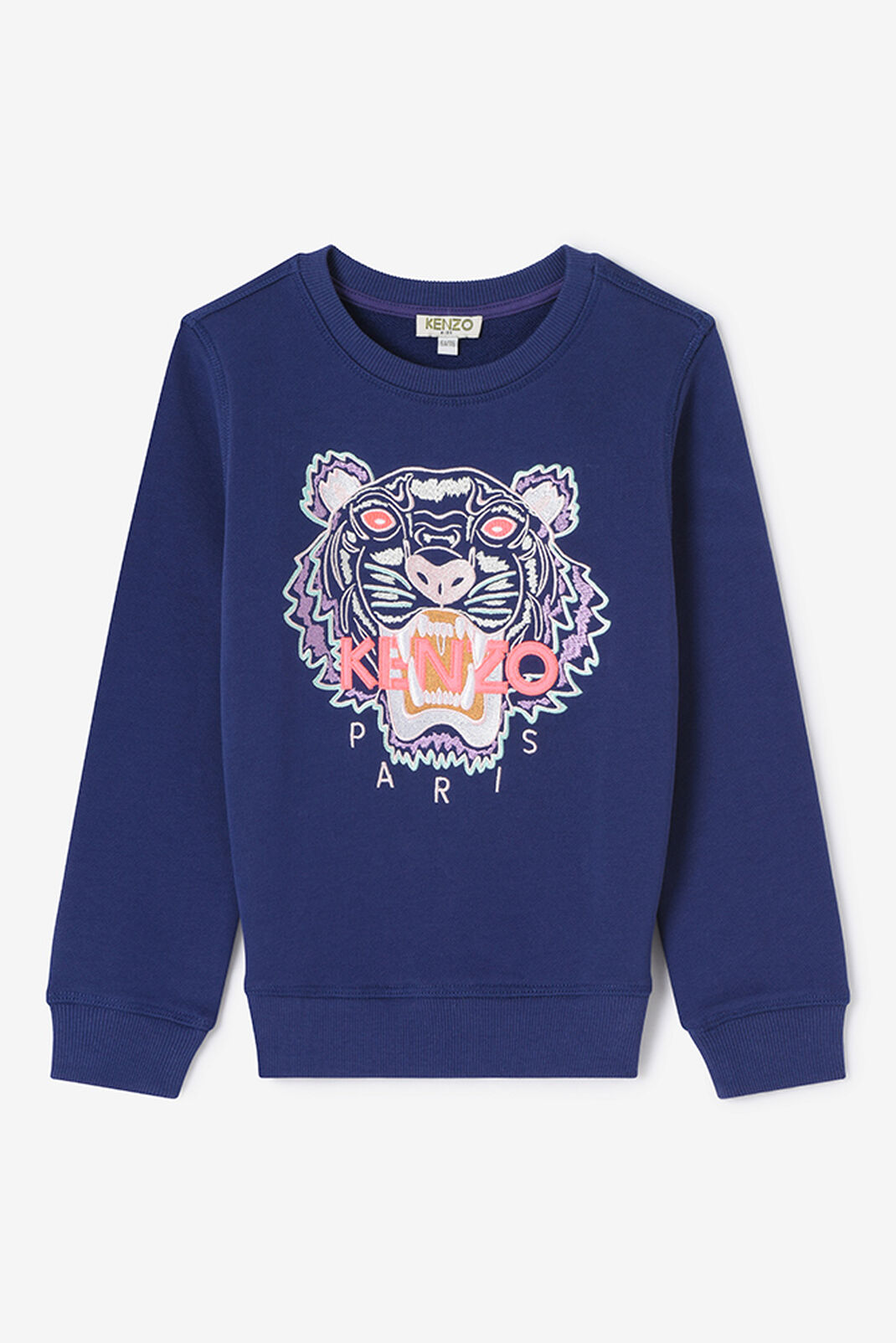 BRIGHT PURPLE Tiger Sweatshirt for men KENZO