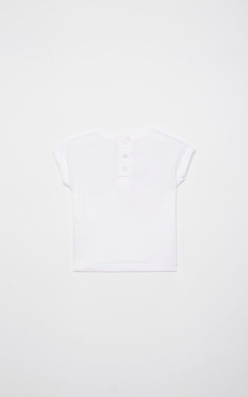 WHITE 'Tiger Friends' t-shirt for women KENZO