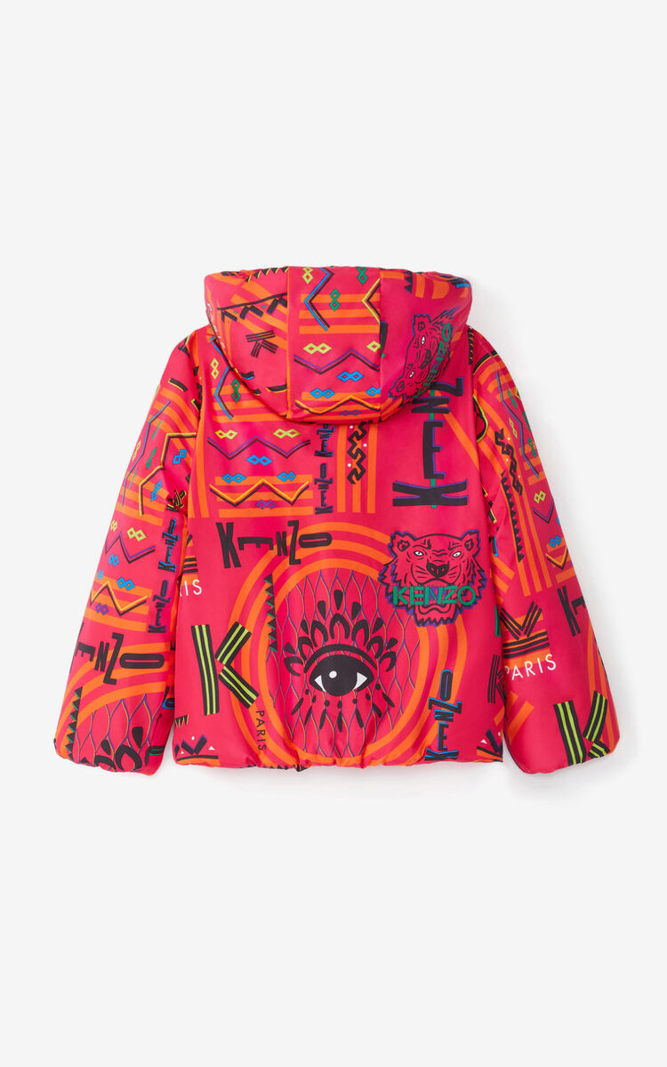 DEEP FUSCHIA 'Lima' hooded jacket for men KENZO