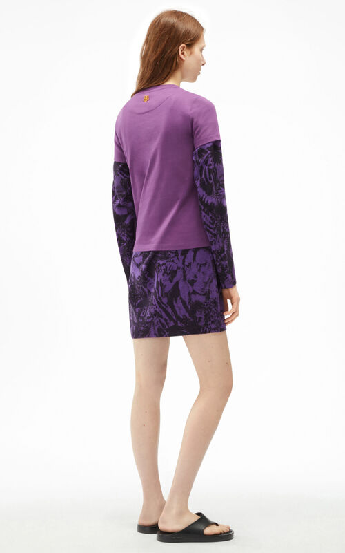 BLACKCURRANT 'We better act now' T-shirt for women KENZO