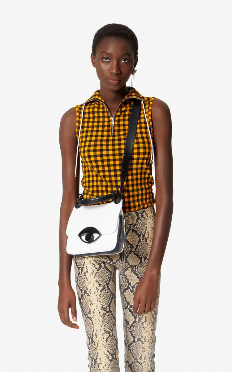 WHITE TALI crossbody bag for unisex KENZO